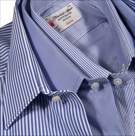 Turnbull & Asser, Charvet or Borrelli bespoke shirts