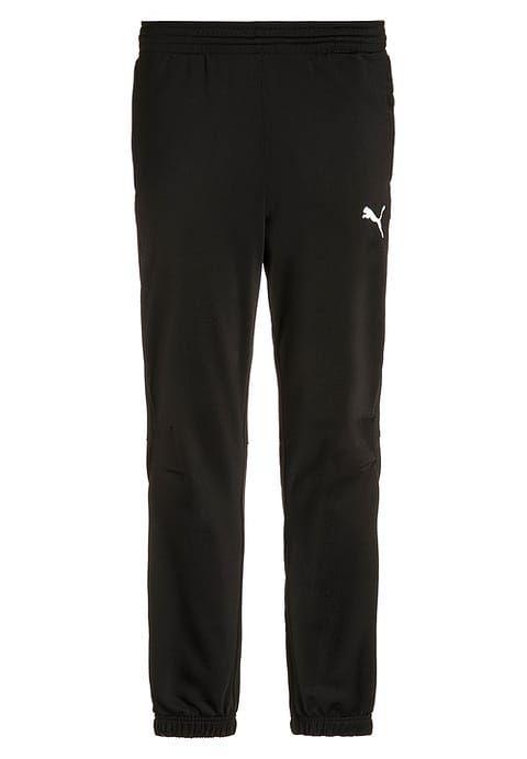 Bestill  Puma Treningsbukser - black/white for kr 199,00 (31.08.17) med gratis frakt på Zalando.no