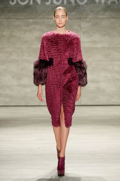 Son Jung Wan Ready To Wear Fall Winter 2015 New York