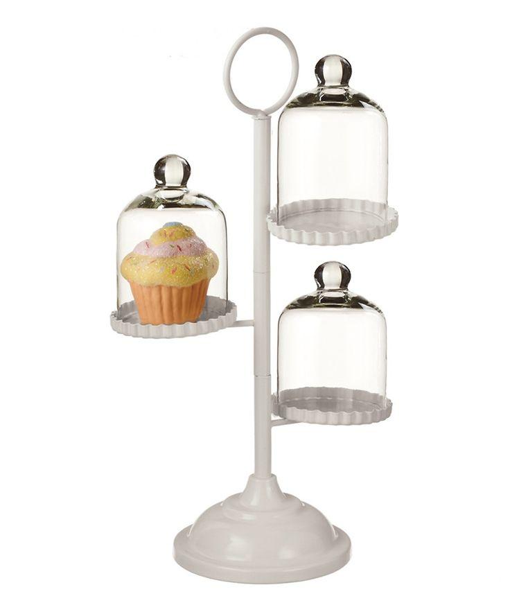 Three-Tier Cupcake Stand