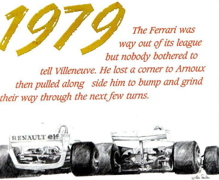 """From """"Villeneuve a racing Legend by Allan de la Plante"""""""