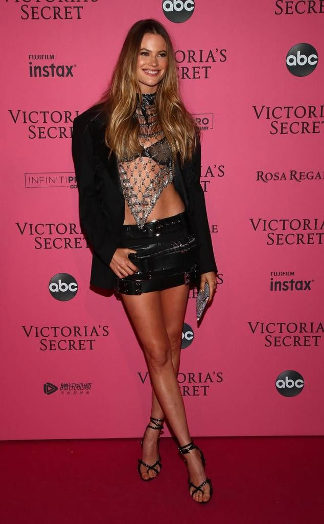 56886a7c56 Behati Prinsloo from 2018 Victoria s Secret Fashion Show After-Party  Red  Carpet Fashion