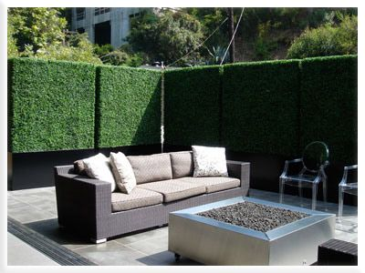 Artificial Hedges, Outdoor Artificial Boxwood Hedge, Privacy Hedge