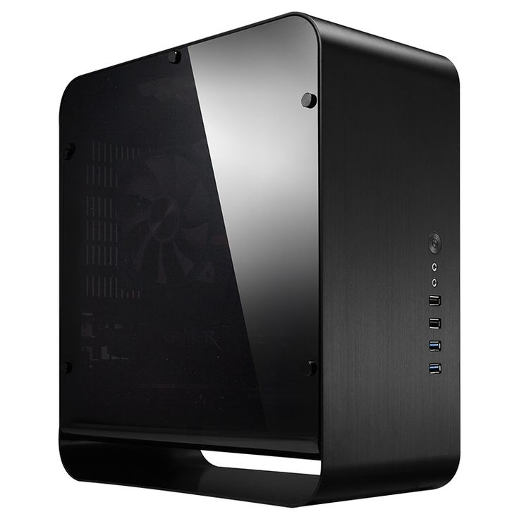 Cooltek Unveils UMX1 Plus Mini-ITX Chassis. I need to check this one out!! And I did, it's a bautifull case and fits my GPU like a glove. Qualify feels on pair with LianLi.