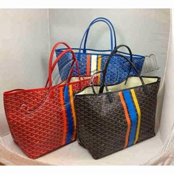 The most popular piece of the  Goyard  collection is the highly acclaimed   GOYARD St. Louis Tote  Bag   Goyard  St. Louis totes by French m...