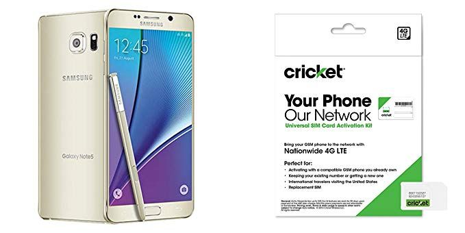 Cricket Samsung Galaxy Note 5 Gold Platinum 32gb At T 4g Lte Galaxy Note 5 Cell Phones For Seniors 4g Lte