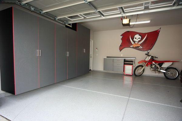 Mejores 46 imgenes de garage en pinterest carpintera garages y buy or build garage cabinet garage cabinet ideas with big square ceramics and wall solutioingenieria Images