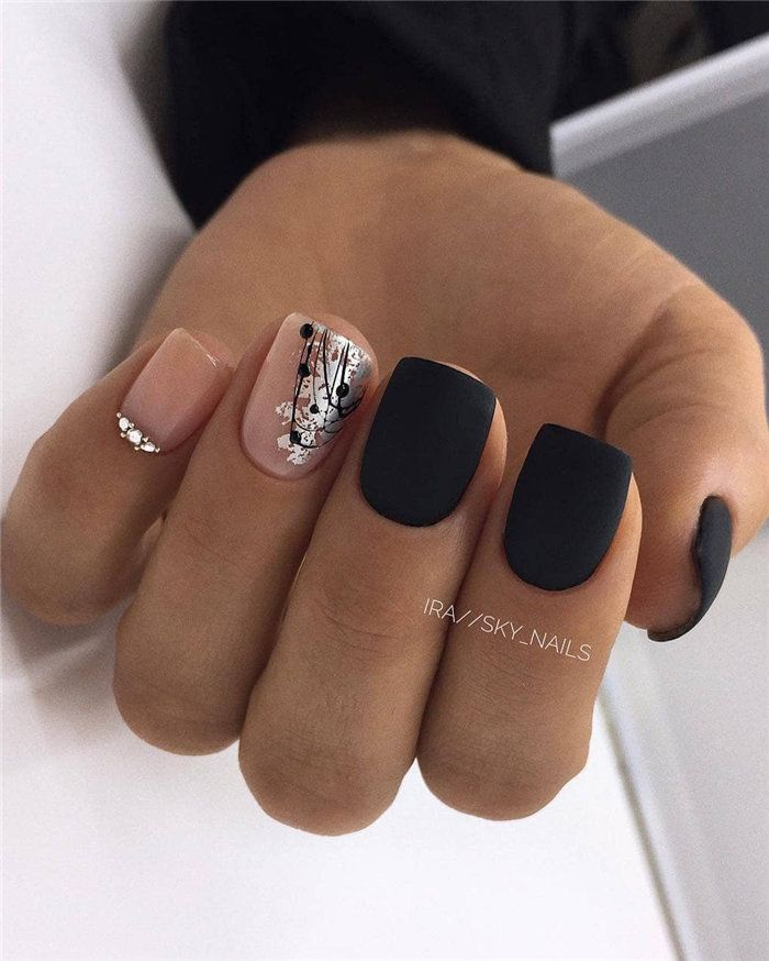 120 Latest And Hottest Matte Nail Art Designs Ideas 2019 With