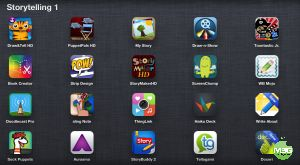 33 Great Apps for Storytelling and Creativity many with example lesson ideas