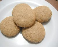 Biscoito de manteiga de amendoim (sem glúten)