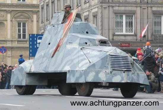 "Improvised Armored ""Kubus"""