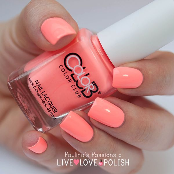 East Austin by Color Club reminds me of warm, days in the summer!