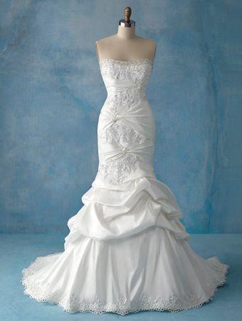 Trending Love this dress To bad I can ut wear mermaids u Disney Bridal Fairy Tale Weddings Ariel wedding dress mermaid style gown by Alfred Angelo