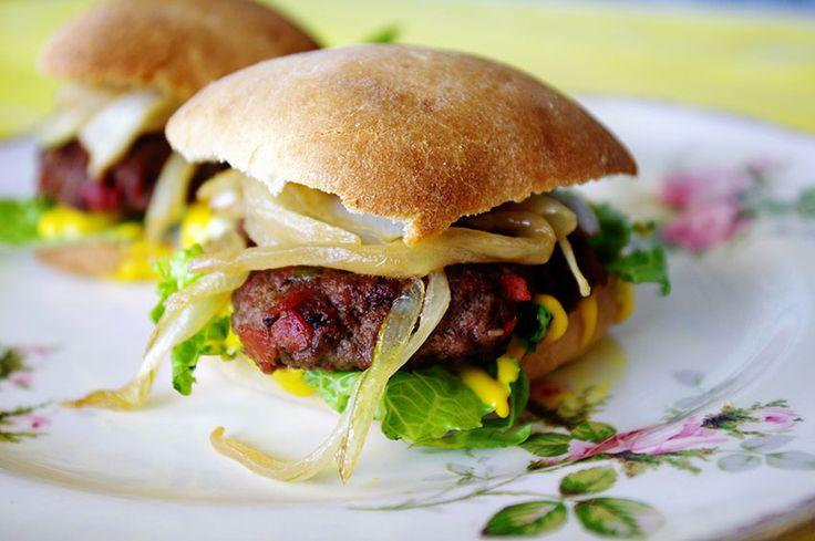 Jamaican Jerk Burgers from Ally's Kitchen #dixiechikcooks