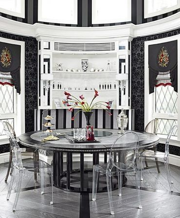 Breakfast Room  Breakfast Room  Kitchen  Contemporary  Eclectic  Modern  Transitional by St Charles of New York