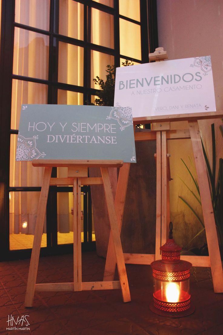 cartel de bienvenidos, wedding inspiration