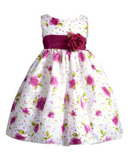 Lola Rose and Polka Dot Print Flower Girl Dress with Sash for Infants Fancy Dress Color: Fuchsia Dress Size: 12M (12 months) Greatlookz http://www.amazon.com/dp/B00APK89F8/ref=cm_sw_r_pi_dp_4tLtub1QMYPPZ