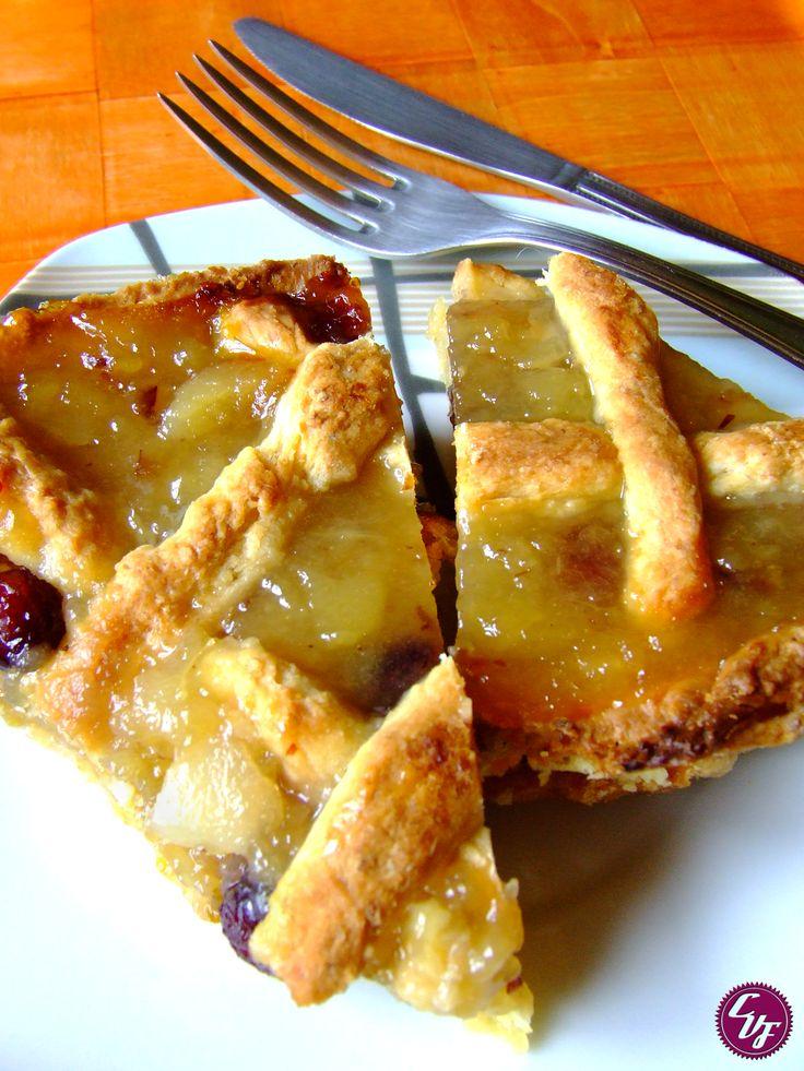 Pasta frola de pera