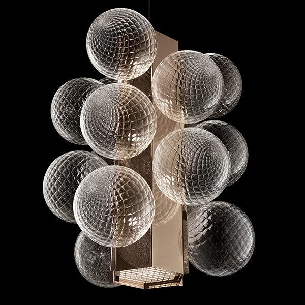 Calvi Brambilla Collection   Lincoln, chandelier for Barovier&Toso   2015  The choice of the year Award - Elle Decoration Russia Best of Milan design week 2015 - Yatzer