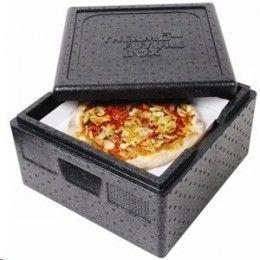 Cajas thermobox para pizza, con asas ergonómicas para mayor seguridad y comodidad, perfectas para pizza. Aptas para lavavajillas, rango de temperatura: -40ºC a 120ºC. Tres medidas a elegir: http://www.ilvo.es/es/product/cajas-thermobox-pizza