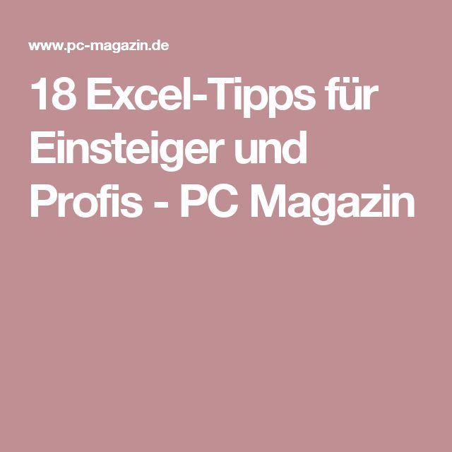 18 Excel-Tipps für Einsteiger und Profis – Alexander Bögelein