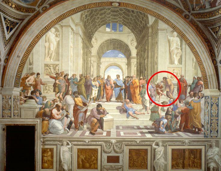 """Guns N' Roses """"Use Your Illusions I & II"""" Album Cover Is Part Of A Vatican Painting By Raphael   FeelNumb.com  Obra original do artista renascentista italiano Rafael em torno de 1510-1511. O nome da pintura é a escola de Atenas (Scuola di Atene) e está localizado na Stanze di Raffaello, no Palácio Apostólico, no Vaticano."""