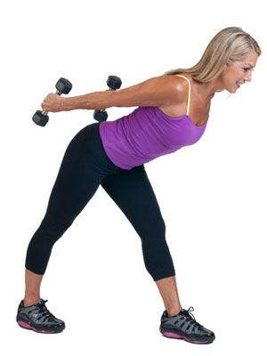 Denise Austin 10 min upper body workout.   - WomansDay.com