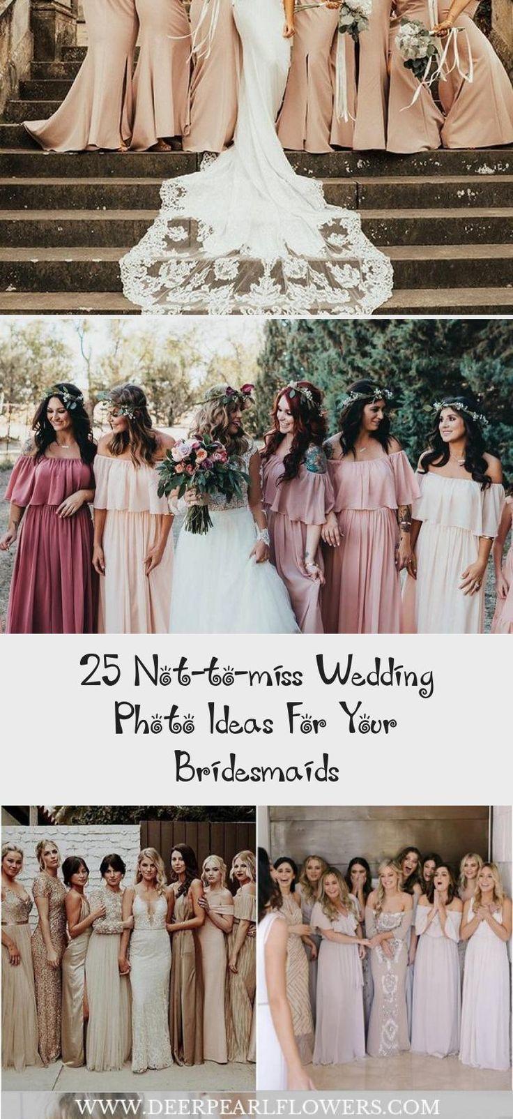 Wedding Photo Ideas For Your Bridesmaids  #wedding #weddingideas #weddingphotos #deerpearlflowers #MixAndMatchBridesmaidDresses #BridesmaidDressesHijab #IvoryBridesmaidDresses #SilverBridesmaidDresses #OrangeBridesmaidDresses