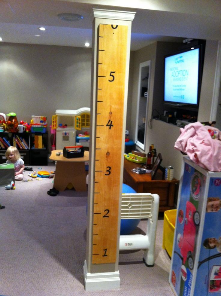 Height chartElie Room, Decor Ideas, Crafts Ideas, Kids Room, Diy Adult, Kids Ideas, Heights Charts, Families Crafts, Growth Ruler