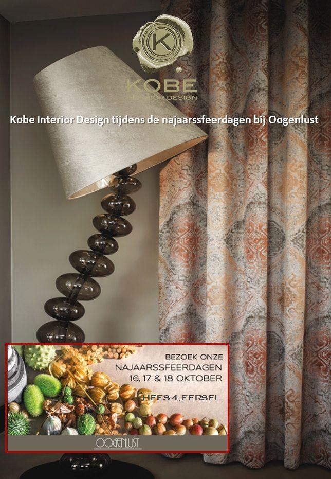 Nieuws | Kobe Interior Design  Kobe will be showcasing its fabrics in the autumn trend days at @oogenlust.