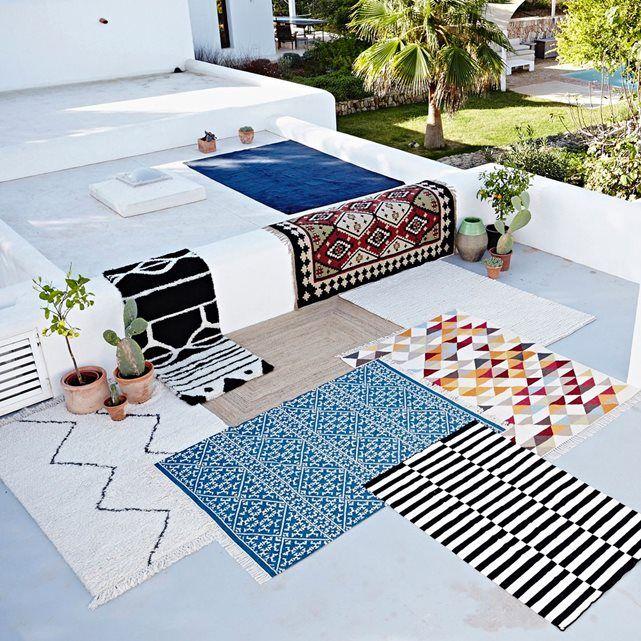9 best tapis salon scandinave images on Pinterest Carpets, Wool - store bois tisse exterieur