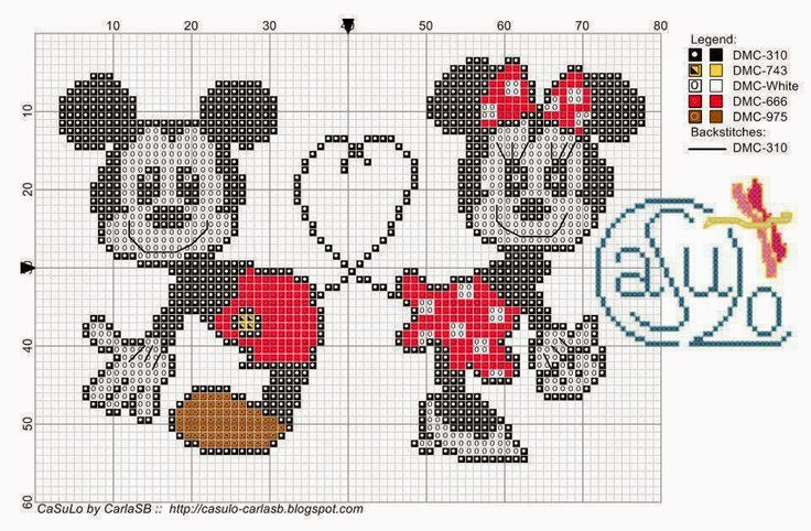 17 Best images about point de croix on Pinterest | Baby mickey mouse, Charts and Pixel crochet