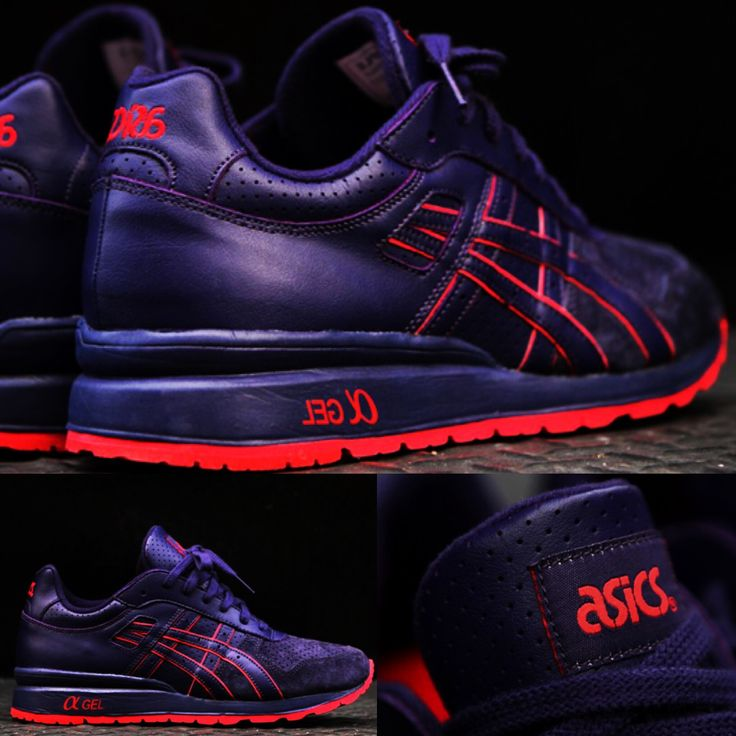 """Ronnie Feig & Asics GT - II """"High Risk"""" & KITH - released on February 20, 2013 #ronniefieg #asics #gt #kithnyc #modernnotoriety #sneakersnews #hypebeast #solecollector #sneakerfreaker #risk  #sneakersaddict #sneakers"""
