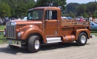 Our recent exploration of converting pickups into semis and vice versa led us to ask one reader for his recollections of this: Kenworth's factory-built pickup, which was nearly destroyed in a feud.