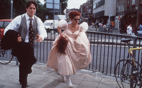 Four Weddings and a Funeral. If you know the movie you know how funny this scene really is.