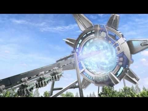 Alton Towers - Galactica