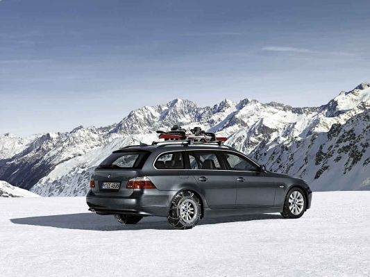 Bmw 5 Series Touring Aerodynamic Package Snow Chains