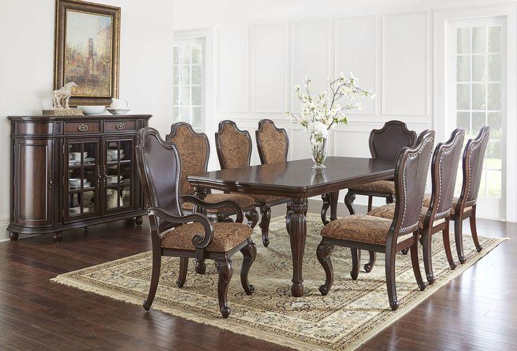 Angelina Rectangular Dining Room Set Steve Silver Furniture   Furniture Cart