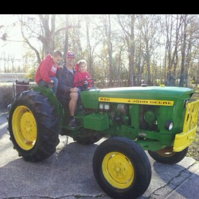 Taking the new tractor for a spin