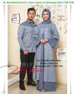 Butik Baju Muslim Terbaru 2018 Gaun Pesta Muslim Blossom Batik