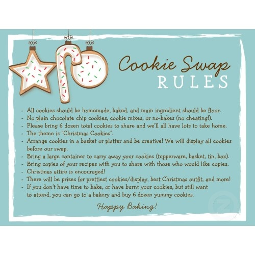 Image detail for -Best Invitation Ideas: Cookie Exchange Ideas and Invitations