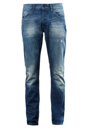 #Q/S #Designed #By #Herren #Destroyed #Jeans #blau - Fit: Pete Straight - Passform: gerade - Bundhöhe: normal - Oberschenkelweite: schmal - Beinverlauf: gerade Details: - authentische Waschung mit Sitzfalten-Effekten und leichten Destroyes - klassische 5-Pocket-Form mit Knopfleiste - Leder-Patch hinten am Bund Qualität: Denim-Qualität aus Baumwolle mit geringem Stretch-Anteil Passt perfekt zu derben Boots! Tipp: Q/S designed by Artikel fallen insgesamt etwas kleiner aus. Wenn deine Maße…
