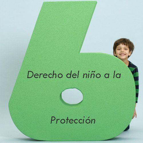 Todos los niños tienen derecho a la protección y socorro frente a situaciones conflictivas y de riesgo, a ser protegidos contra todas las formas de abuso y explotación que perjudique sus bienestar.