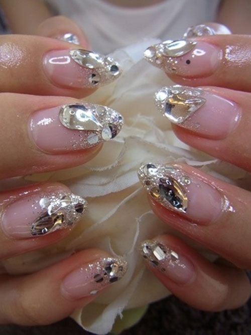 54 best Nails - round images on Pinterest | Japanese nail art ...