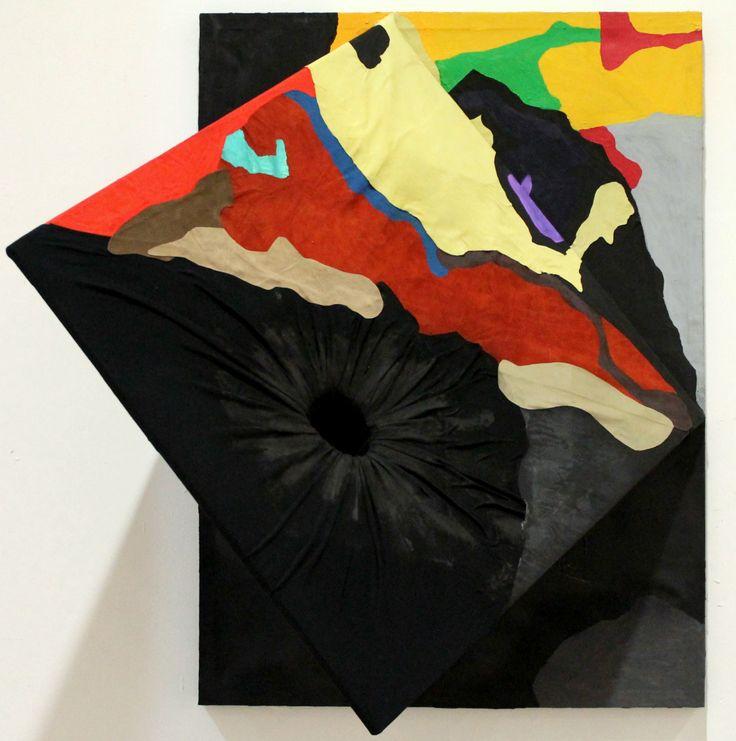 GRACE IVO Abismo Técnica Mista, 110x80x20 cm, 2015