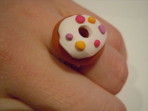 Delicious DOUGHNUT RING with Pink Light Purple by TheGentleFlower