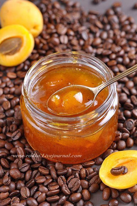 Абрикосовый джем с кофе и ванилином