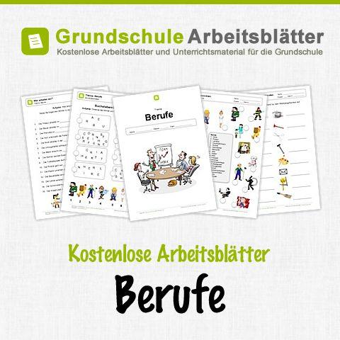 Kostenlose Arbeitsblätter und Unterrichtsmaterial für den Sachunterricht zum Thema Berufe in der Grundschule.