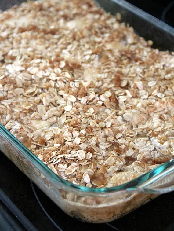 Easy Apple Crisp With Cake Mix And Canned Apples