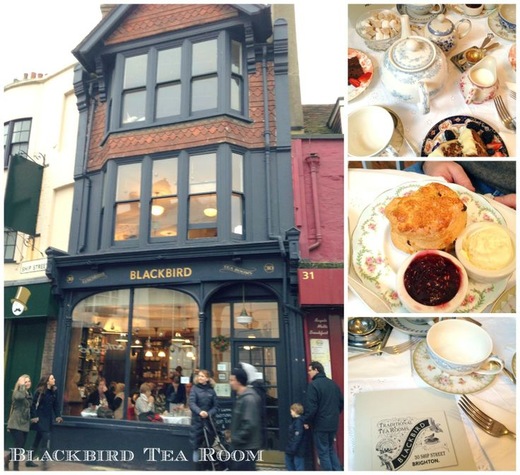 Blackbird Tea Rooms, Ship Street, Brighton